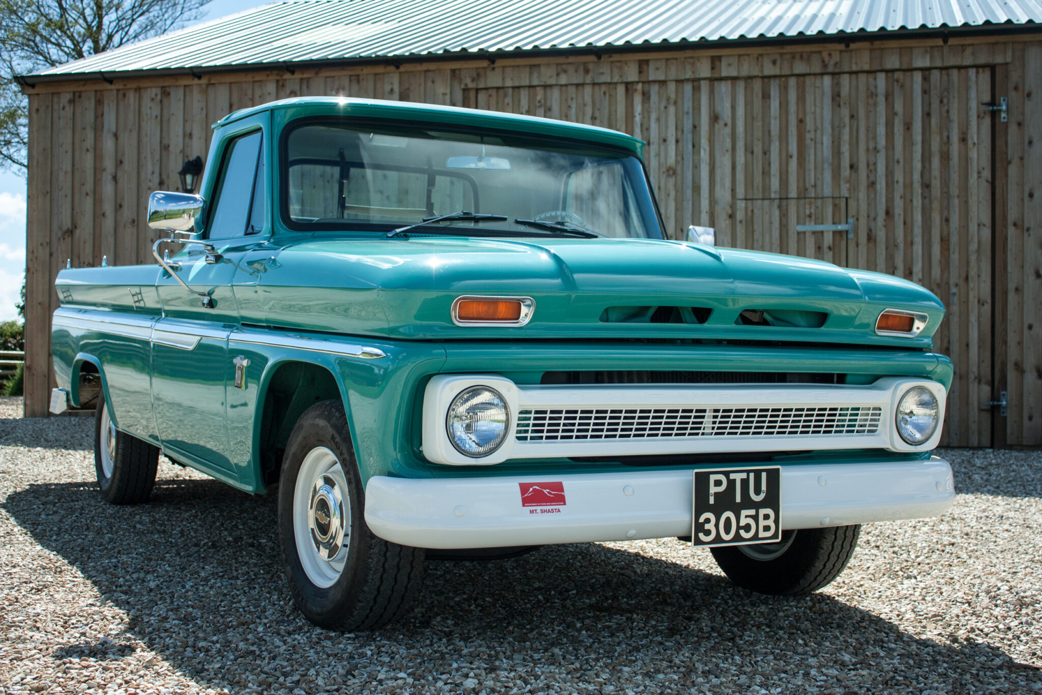 Vintage Chevrolet Truck custom rebuild by RHM Bodyshop, Launceston Cornwall
